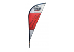 Sharkfin Banners-2m Single Sided