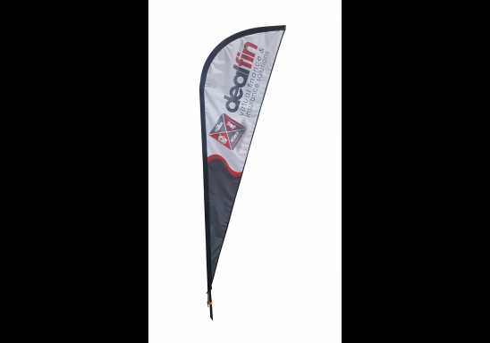 Sharkfin Banners-3.0m Single Sided