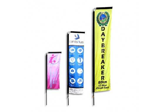 Telescopic Banners-2m Double Sided