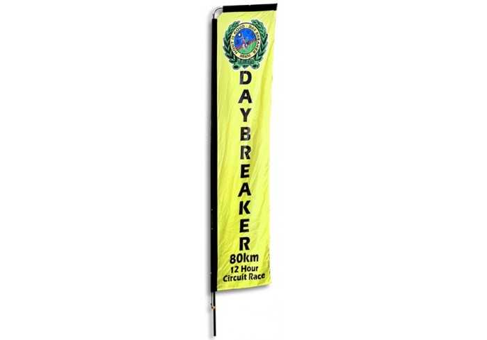 Telescopic Banners-4m Double Sided