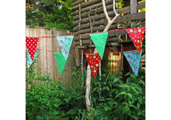 Bunting String Flags SINGLE A4 CLOTH 50MM GAP