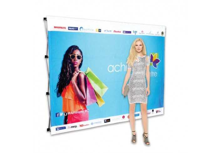 Banner Wall Double Sided