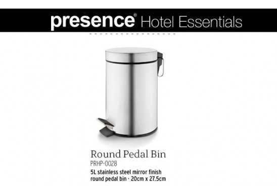 Round Pedal Bin