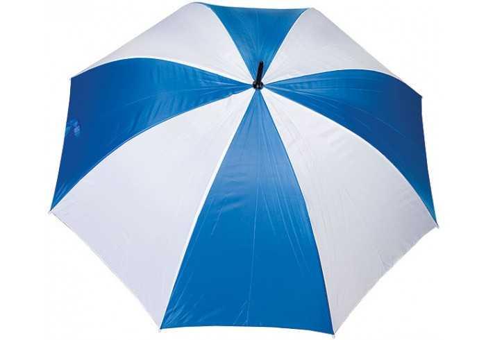 Golf Umbrella with Eva Handle - Blue/White
