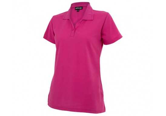 Basic Pique Ladies Golfer - Pink