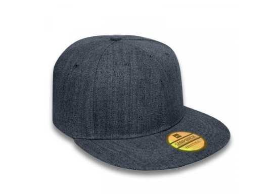 Signature Snapback Cap - Denim Blue
