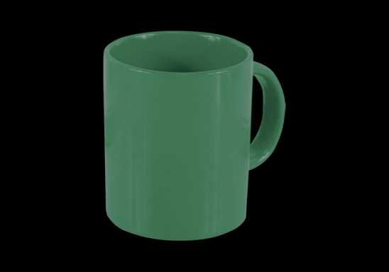 Sizla Coffee Mug - Dark Green