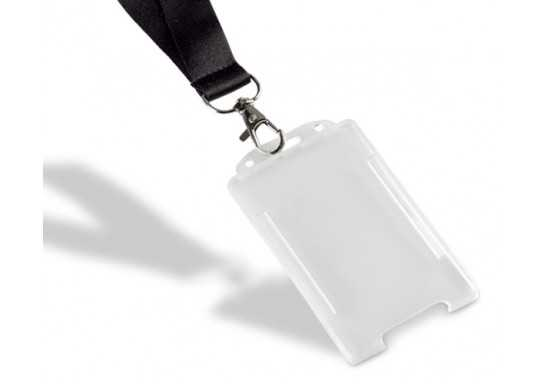 Portrait Lanyard Card Holder