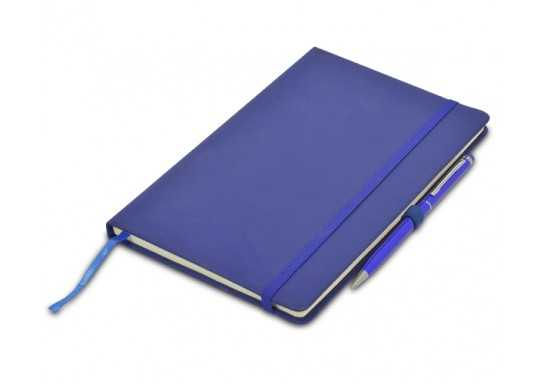 Discovery A5 Notebook with pen loop - Blue