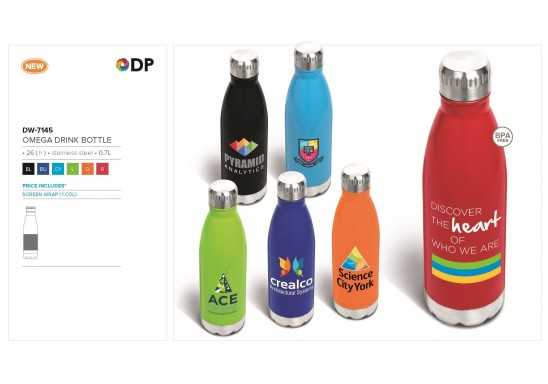 Omega Brite Drink Bottle - 0.7L