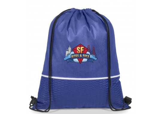 Brighton Drawstring Bag - Blue