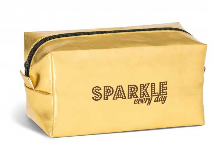 Bella-Donna Cosmetic Bag - Gold