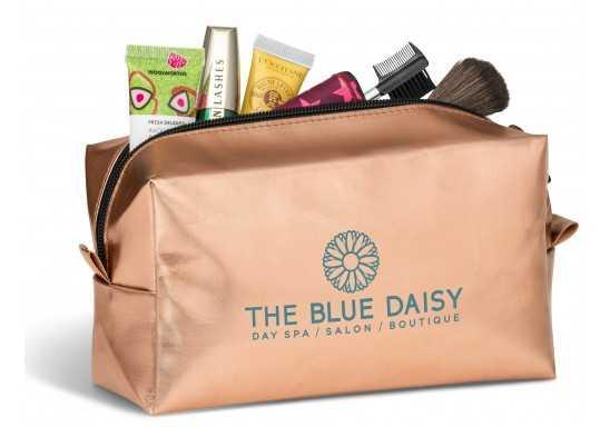 Bella-Donna Cosmetic Bag -Rose Gold