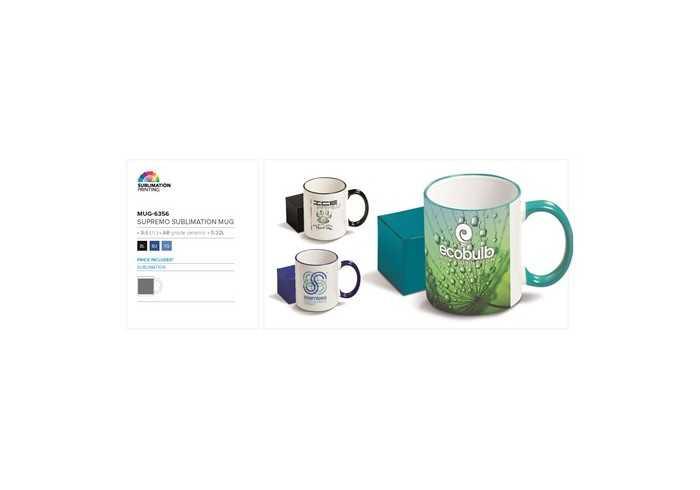 Supremo Sublimation Mug - Branding Guidelines
