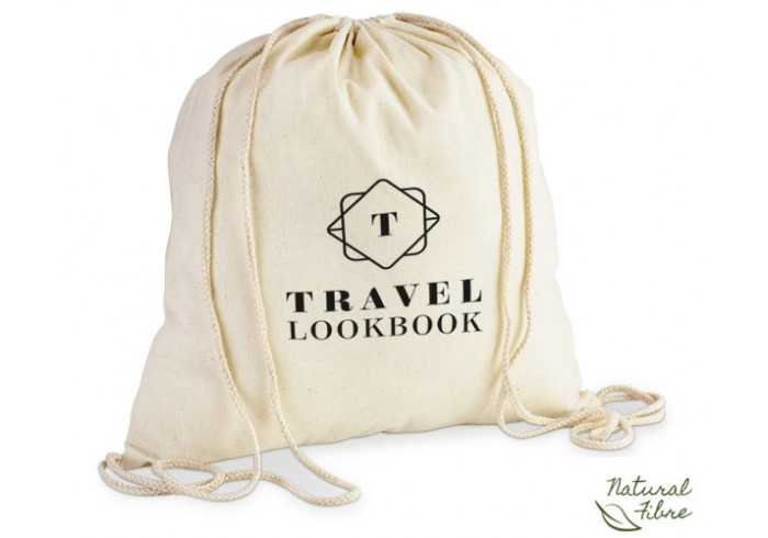 ECO-COTTON DRAWSTRING BAG