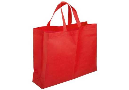 Scopic Gusset Shopper - Red