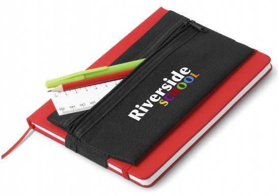 Collegiate Pencil Case - Black