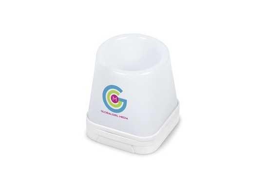 Luminate 3-In-1 Desk Caddy - White