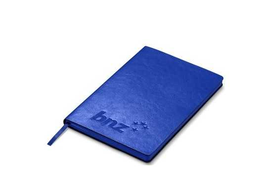 Showcase A5 Notebook - Blue