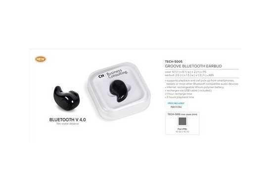 Groove Bluetooth Earbud