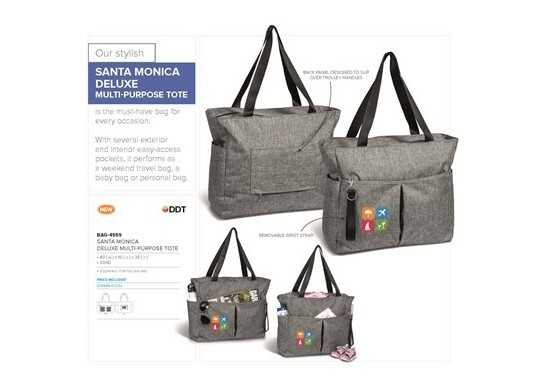 Santa Monica Deluxe Multi-Purpose Tote