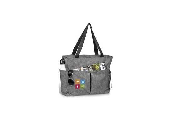 Santa Monica Deluxe Multi-Purpose Tote - Silver