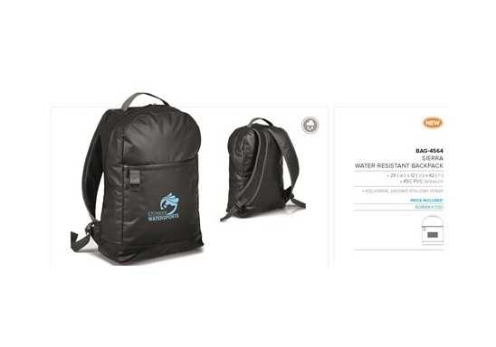 Sierra-Water Resistant Backpack