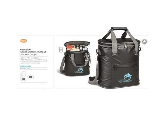 Sierra-Water Resistant 24-Can Cooler