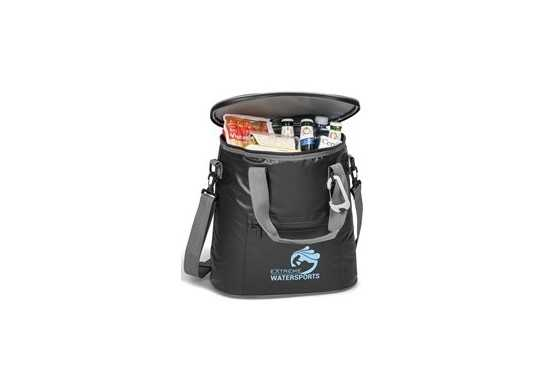 Sierra-Water Resistant 24-Can Cooler - Black