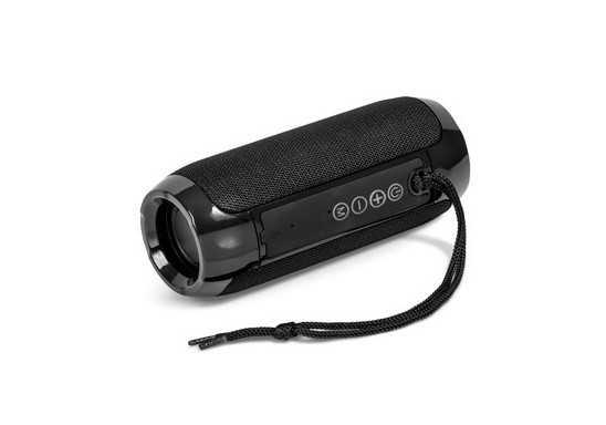 Blast Bluetooth Speaker And Fm Radio - Black