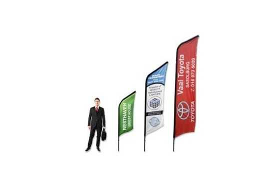 CURVED BANNERS- 3M SINGLE SIDED