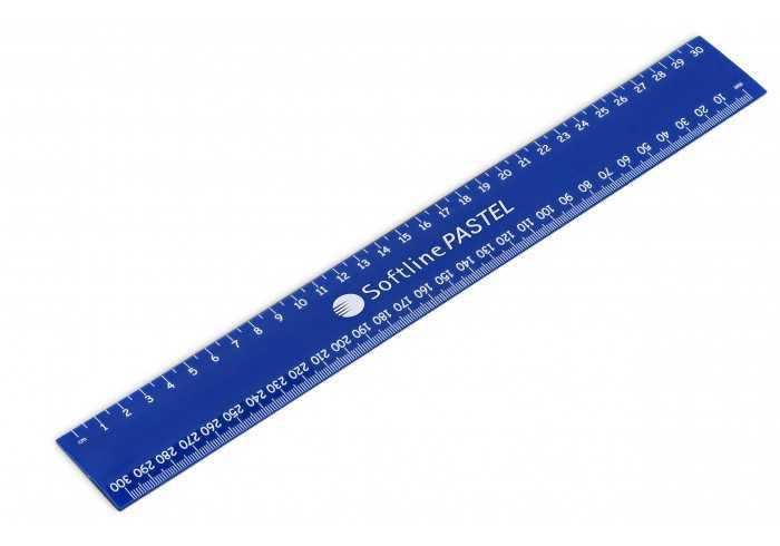 Frontline 30Cm Ruler - Blue