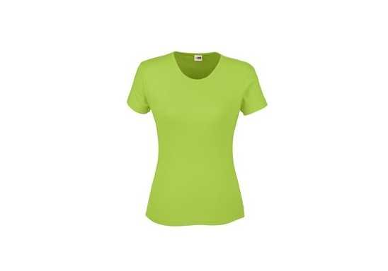 US Basic Ladies California T-Shirt - Lime