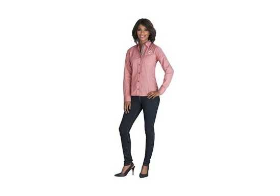 US Basic Ladies Long Sleeve Coventry Shirt