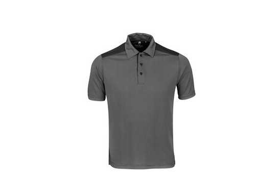 Gary Player Mens Sterling Ridge Golf Shirt - Black