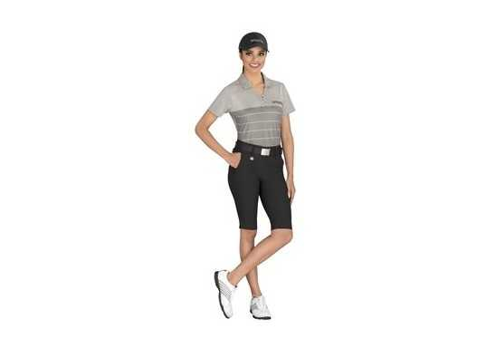 Cutter & Buck Ladies Streak Golf Shirt