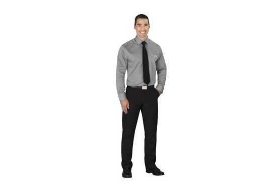 Cutter & Buck Mens Long Sleeve Claremont Shirt