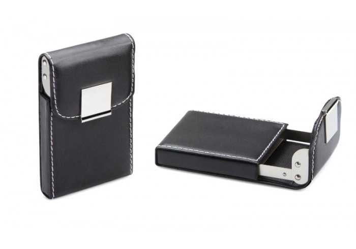 Executive PU Business Card Holder