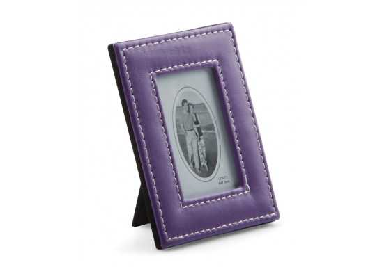 Small PU Photo frame - Purple