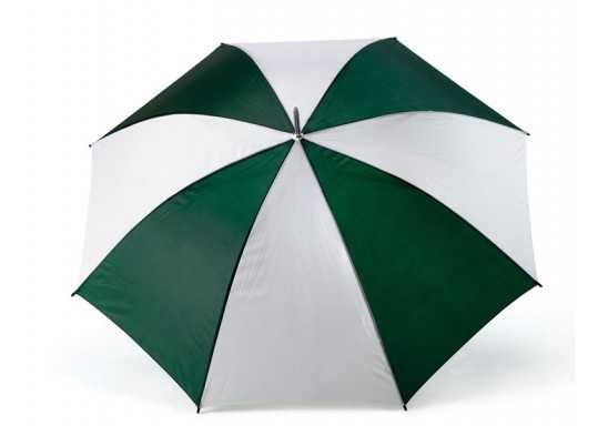 8 Panel Golf Umbrella - White And Green