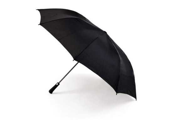8 Panel Half Size Golf Umbrella - Black