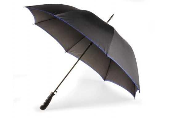 8 Panel Contrasting Edge Umbrella - Navy