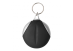 Keychain with Recycled Fibre Cloth - Black