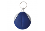 Keychain with Recycled Fibre Cloth - Blue