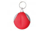 Keychain with Recycled Fibre Cloth - Red