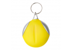 Keychain with Recycled Fibre Cloth - Yellow
