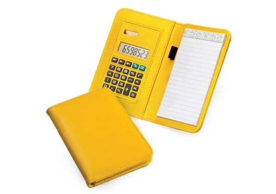 Note Book with Calculator