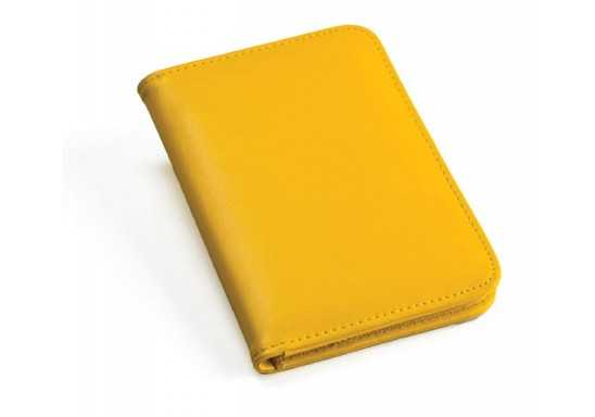 Note Book with Calculator - Yellow