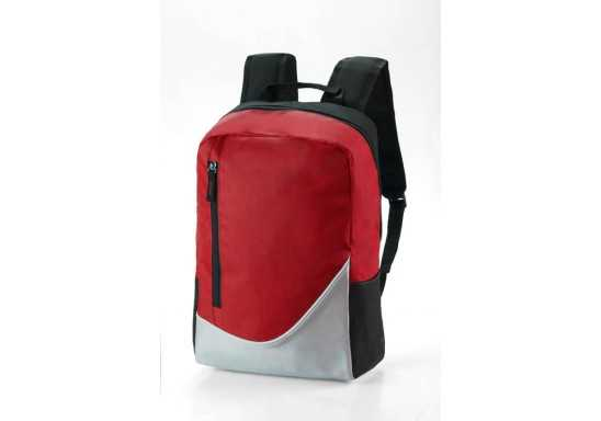 Contrast Backpack - Red