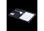 A4 Carbon Fibre Design Folder - Open